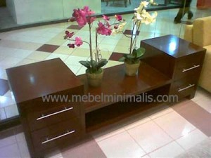 Bufet Minimalis Brown