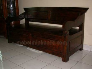Toko Furniture Murah Bangku Jati MM 33