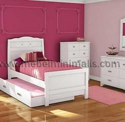 jual tempat tidur anak set kamar minimalis perempuan