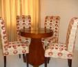 Meja Makan Lingkaran Kursi Sofa MM 463