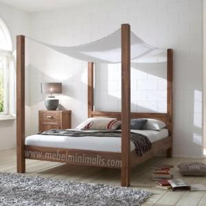 Furniture Minimalis Tempat Tidur Kanopi MM 311