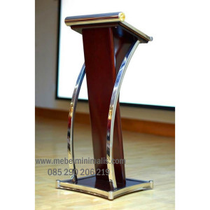 Ready Stock Podium Minimalis Kombinasi Stainless MM PM 212
