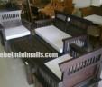 Furniture Minimalis Kursi Meja Tamu Kawung