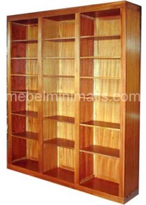 Lemari Rak Buku Minimalis MM 01 Jual Mebel furniture