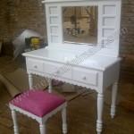Meja Rias Cantik Duco Putih Pesanan Ibu Eri 2