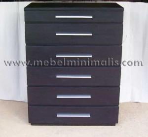 Dresser Minimalis Kayu Jati MM 209